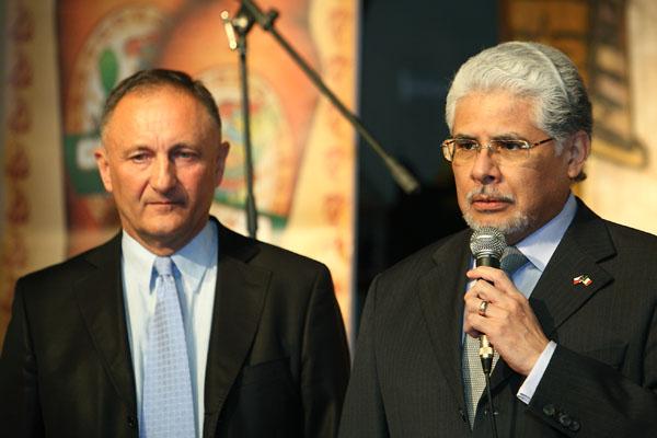 Ředitel SD Partners Ardanas a Mexický velvyslanec